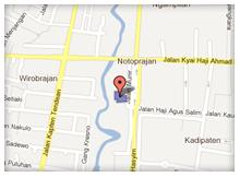 Peta STIKES 'Aisyiyah Bandung